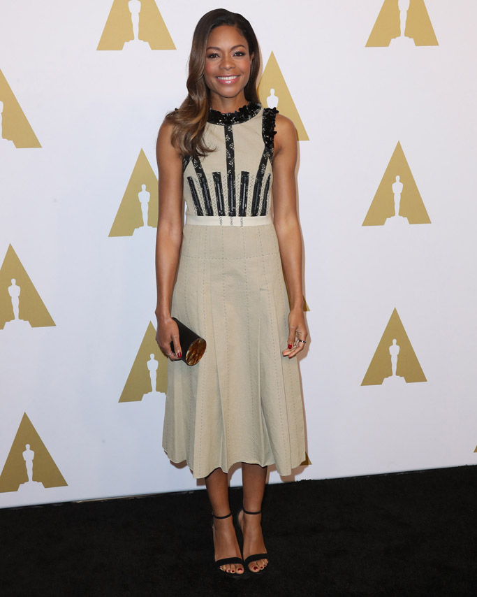 Naomie Harris Celebrity Statement Shoes