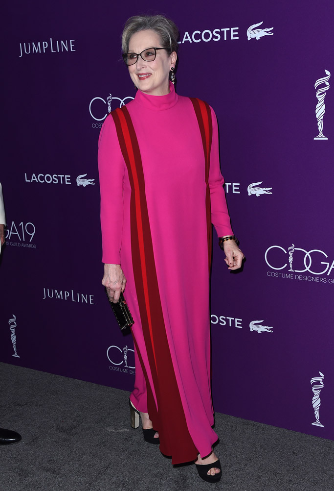 meryl streep 2017 costume designers guild awards
