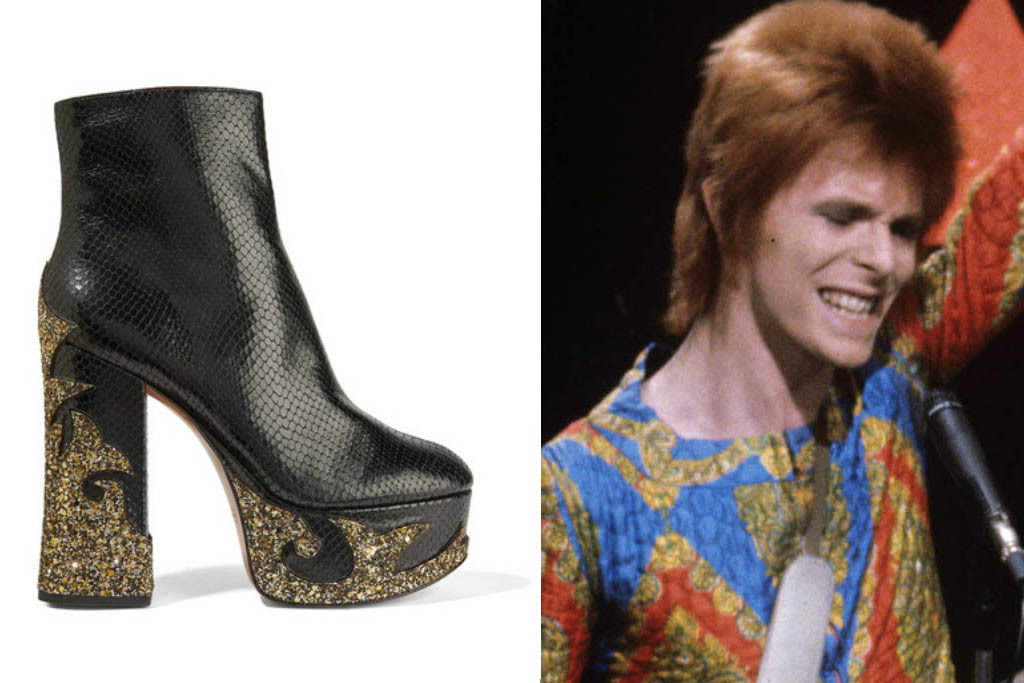 11 David Bowie-Inspired Shoes To Rock