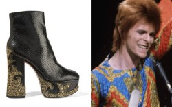 david bowie ziggy stardust shoes