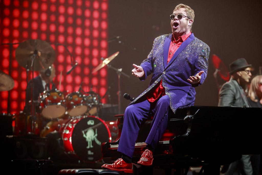 Elton John Million Dollar Piano Tour