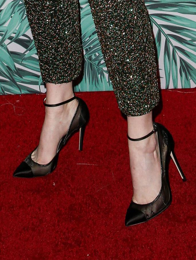 Emma Stone women in film oscar party red carpet