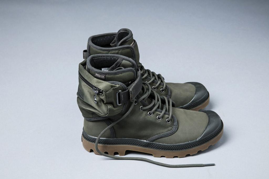 palladium fanny pack boots coachella bonaroo edc