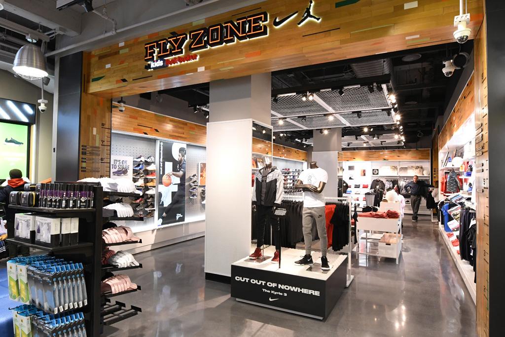 Fly Zone Foot Locker NYC Broadway