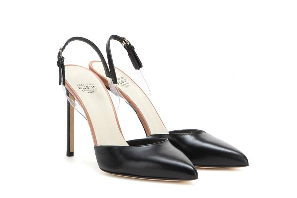 Francesco Russo Slingback Heels