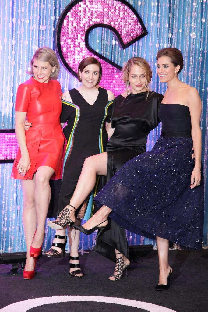 Lena Dunham Girls Red Carpet