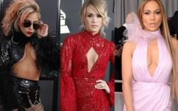 Lady Gaga Carrie Underwood Jennifer Lopez