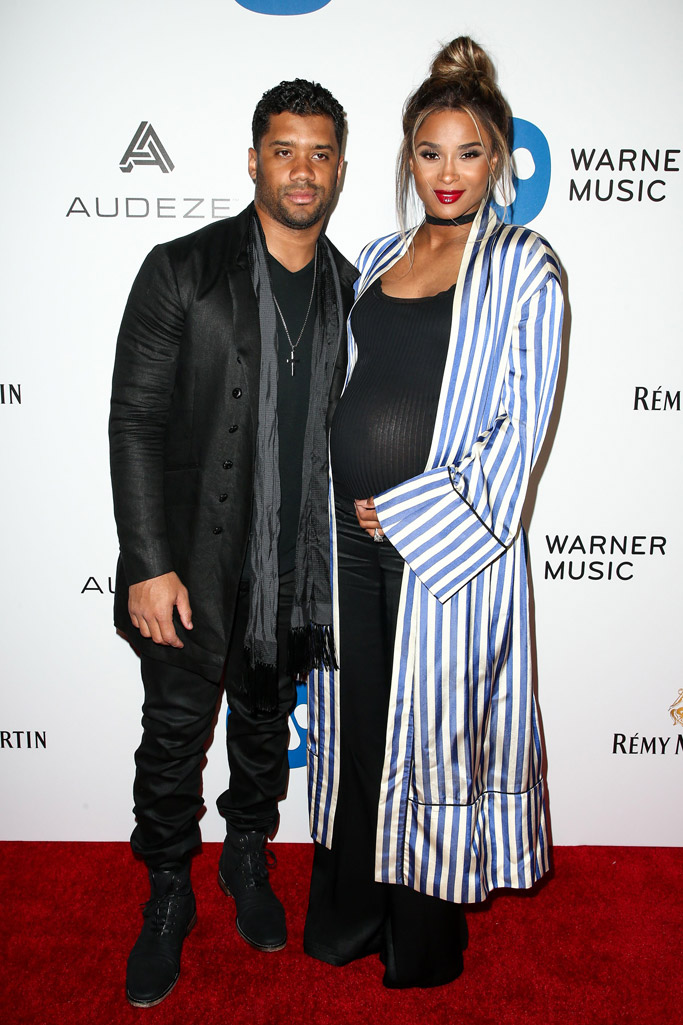 Russell Wilson Ciara 2017 Grammys After Party