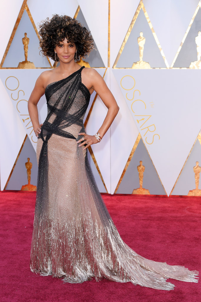 Halle Berry Oscars 2017 Red Carpet