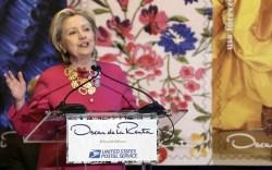 Hillary Clinton Oscar de la Renta
