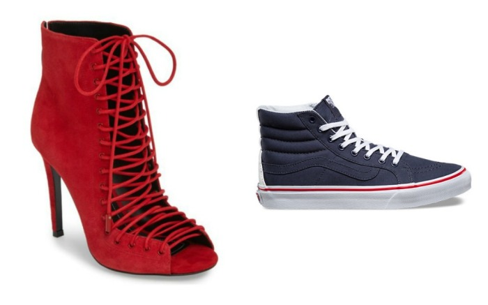 Women's Shoes to Wear to Watch the Super Bowl in Your Team's Colors