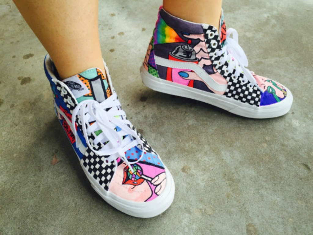 Coolest High-Top Sneakers on Etsy