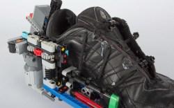 Self-Lacing Shoe Hack With Legos