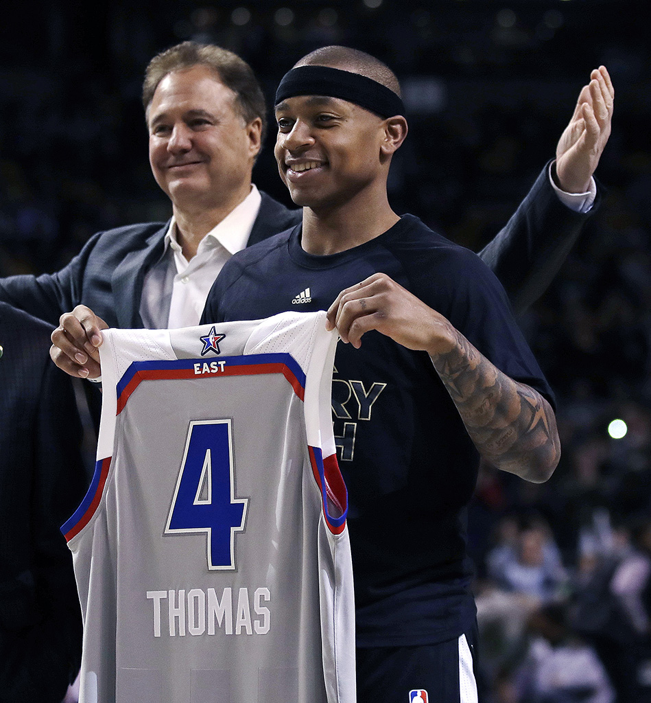 Isaiah Thomas Boston Celtics NBA All-Star