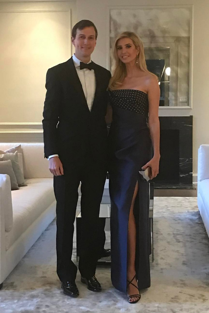 Ivanka Trump Governors Ball