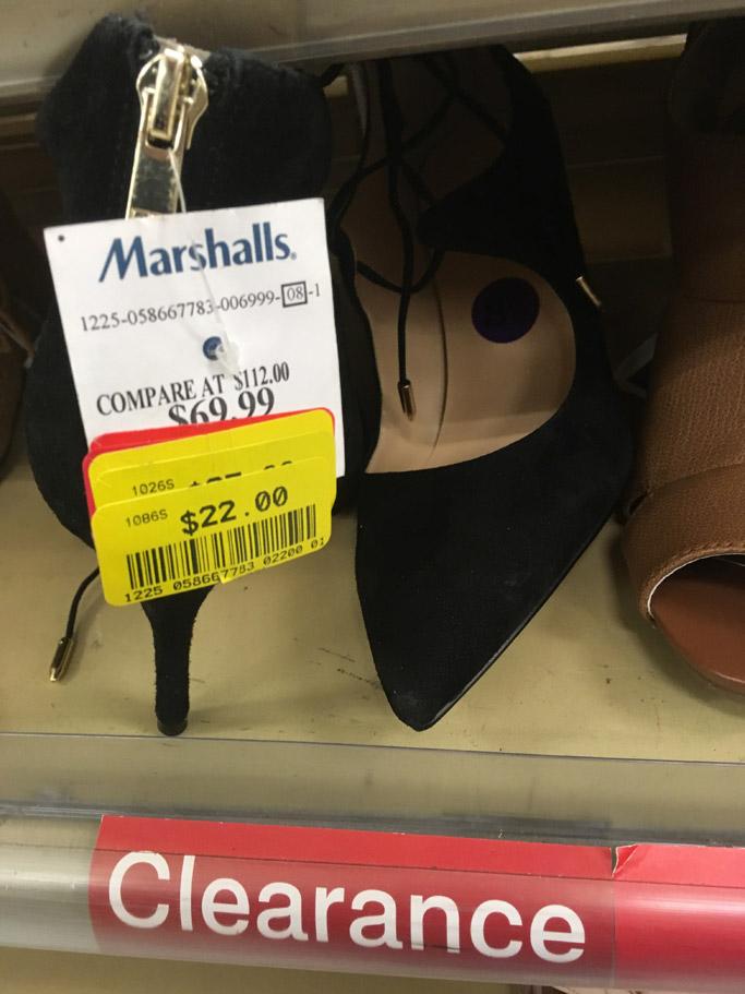 marshalls ivanka trump shoes