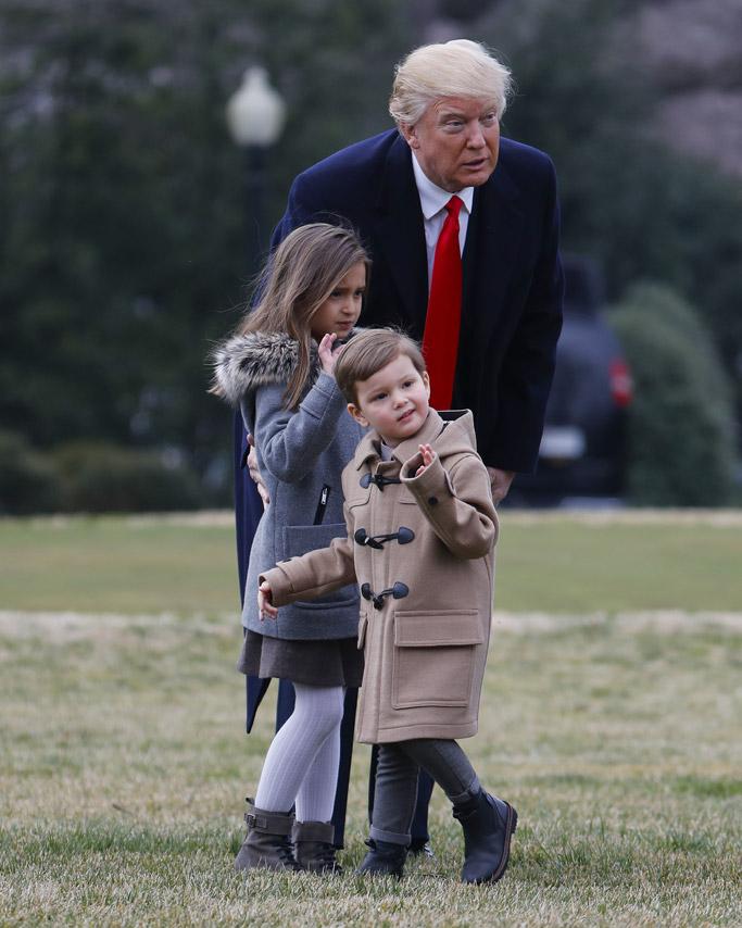 ivanka trump kids joseph kushner president