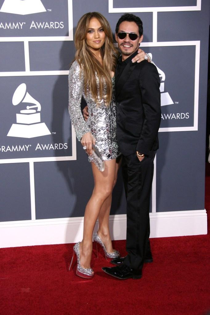 Grammy Awards Jennifer Lopez Marc Anthony