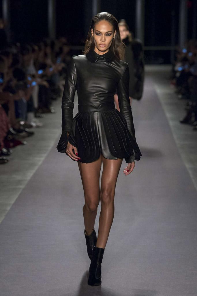 joan smalls new york fashion week fall 2017 runway brandon maxwell