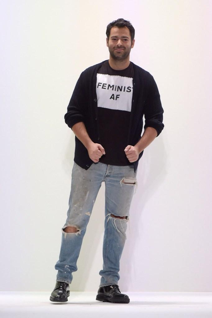 Jonathan Simkhai Fall 2017 ready to wear manolo blahnik
