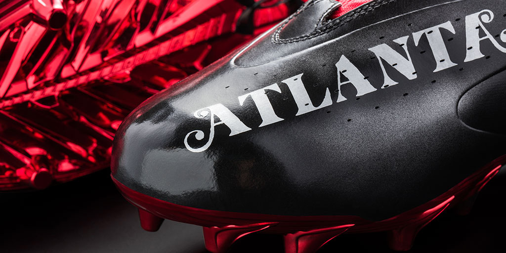 Atlanta TV Under Armour cleats Julio Jones Mache
