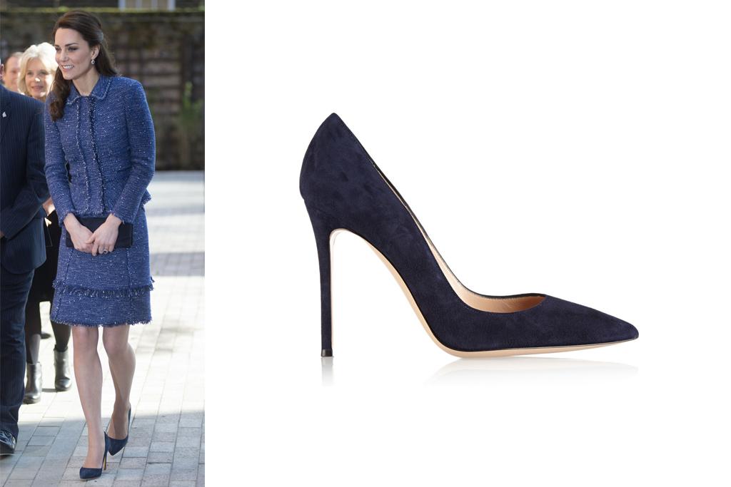 Kate Middleton Gianvito Rossi