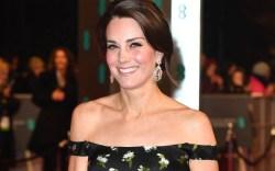 BAFTA Red Carpet Kate Middleton