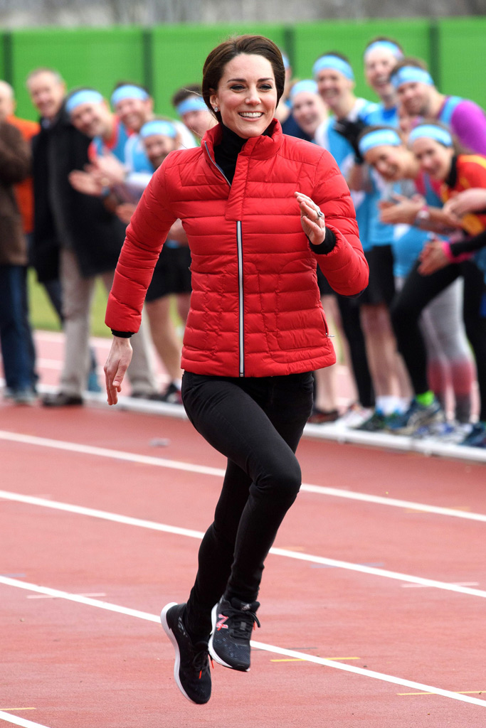 Kate Middleton Running