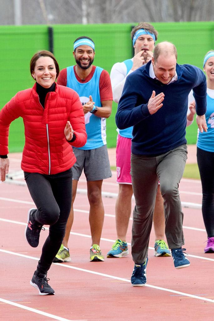Kate Middleton Running