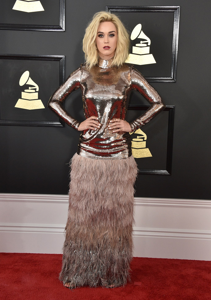 Katy Perry 2017 Grammys Red Carpet