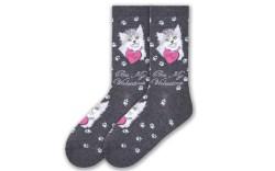 K.Bell Valentine's Day socks