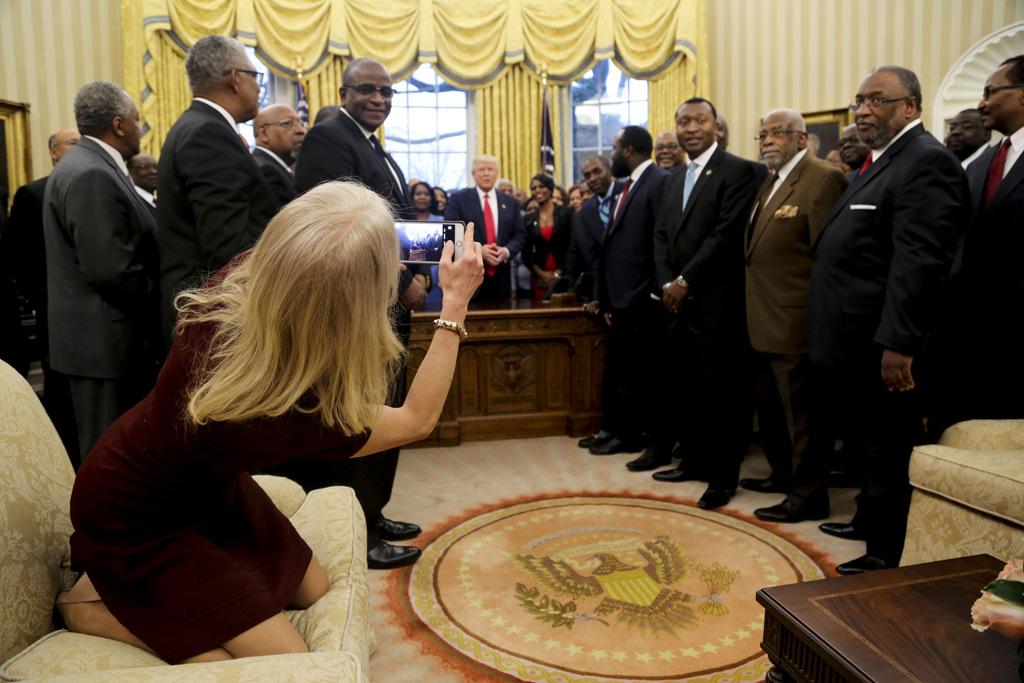Kellyanne Conway Oval Office