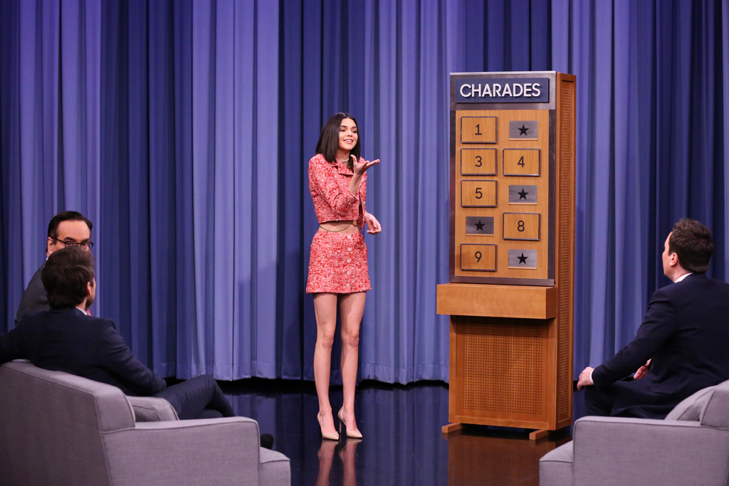Kendall Jenner Jimmy Fallon