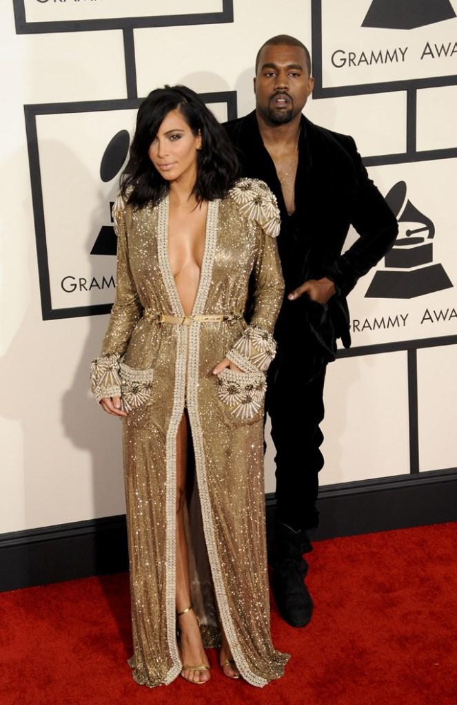 Grammy Awards Kanye West Kim Kardashian