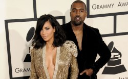 Grammy Awards Kim Kardashian Kanye West