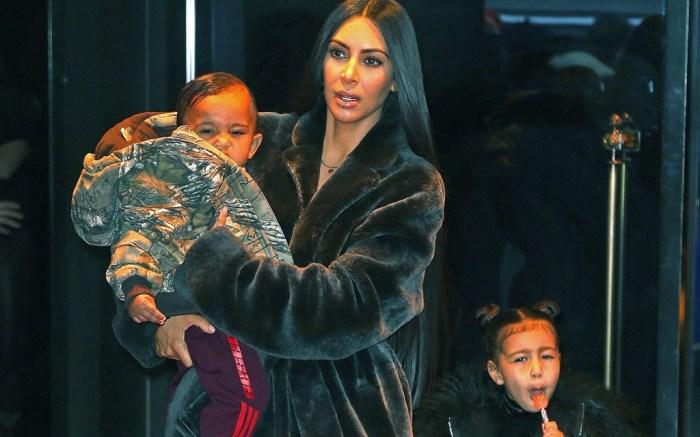 Kim Kardashian West and Children