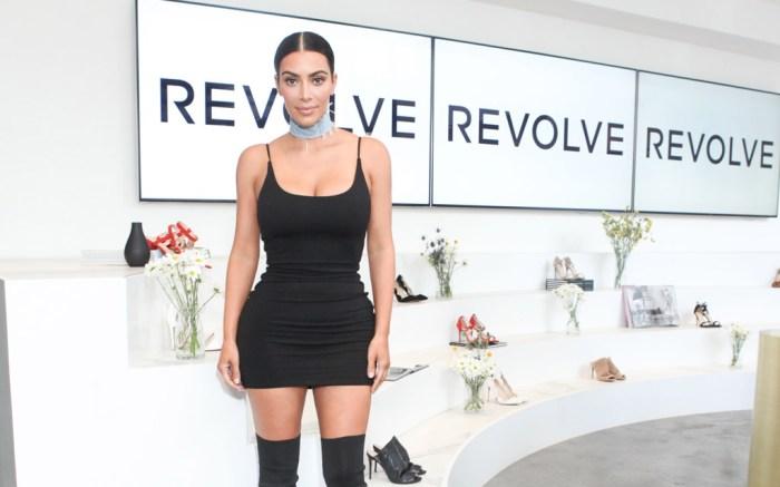 Kim Kardashian West Revolve Social Club