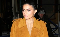 kylie jenner nude outfit boots