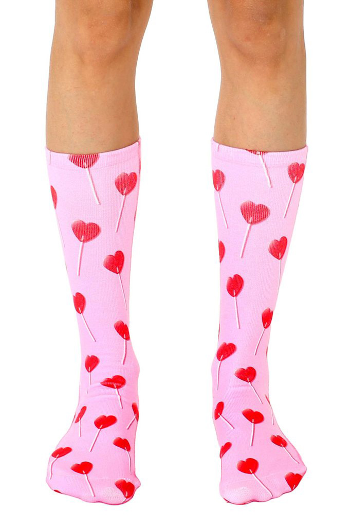 Living Royal Valentine's Day socks