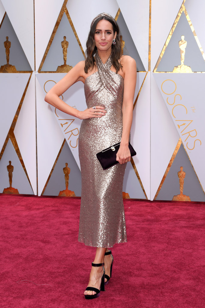 Louise Roe Oscars 2017 Red Carpet
