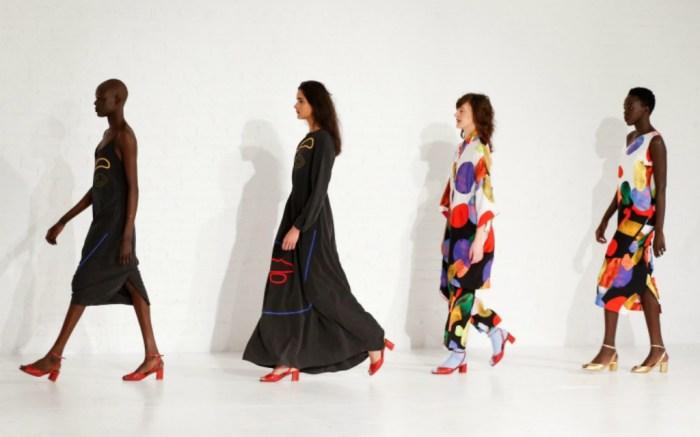 Mara Hoffman fall '17 collection.