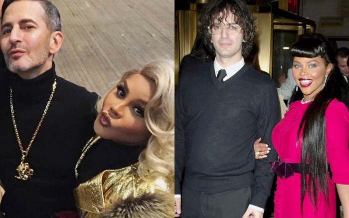 Marc Jacobs and Lil' Kim