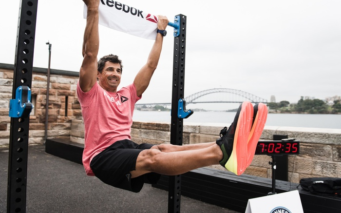 Guinness World Record CrossFit Marcus Bondi