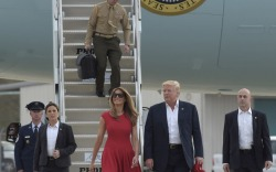 First Lady in Red: Melania Trump