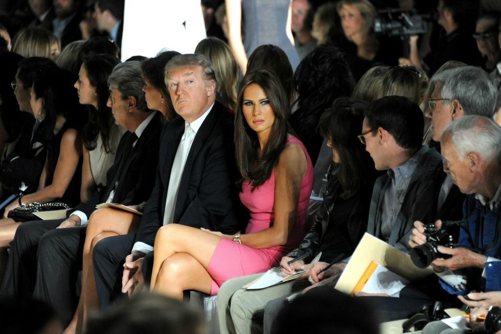 Melania Trump New York Fashion Week