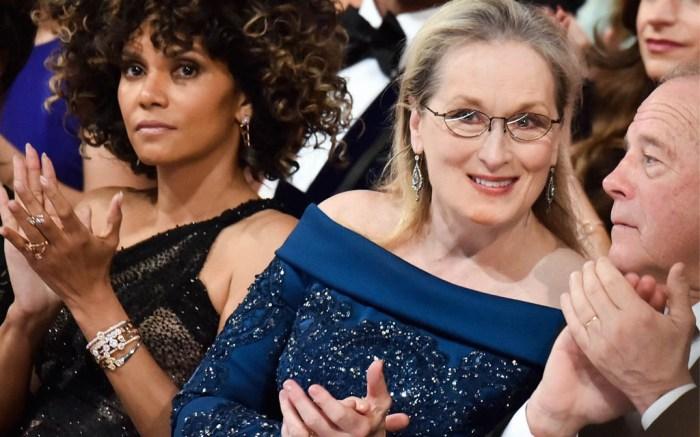 Meryl Streep oscars 2017 dress