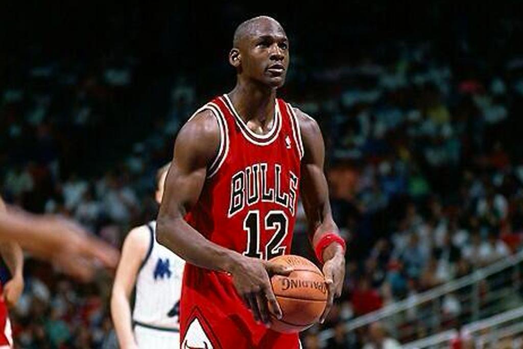 Michael Jordan 12 Valentine's Day 1990