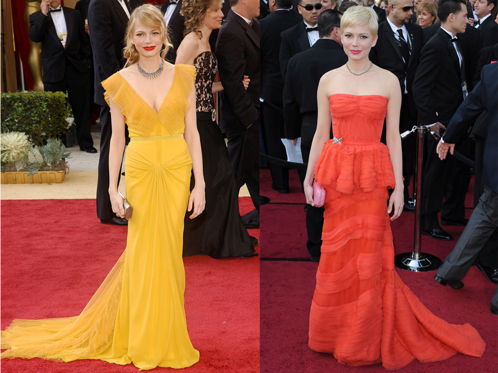 Michelle Williams Oscars Red Carpet
