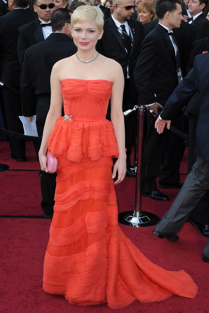 Michelle Williams actress before after red carpet fashion