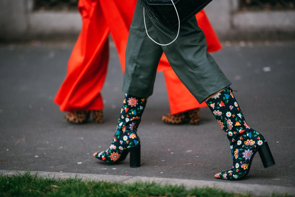 Milan Fashion Week Street Style Fall 2017